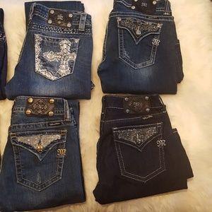 miss me jeans size 30 BUNDLE